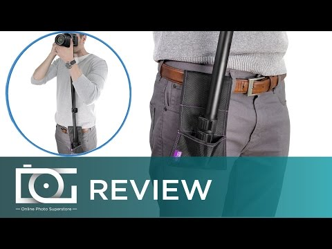 Monopod Stabilizer Belt Pouch | Stabilization & Support On-The-Go By Altura Photo® | REVIEW