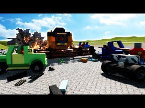WORLDS LARGEST LEGO RACE AND DEMOLITION DERBY! – Brick Rigs Gameplay Roleplay – Lego Car Crashes!