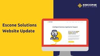 Escone Website Update