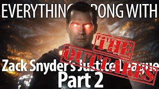 Everything Wrong With Zack Snyder's Justice League Part 2: The Outtakes