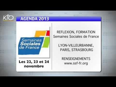 Agenda du 18 novembre 2013