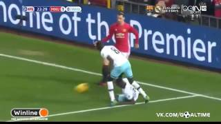Manchester United Vs West Ham United 41 ● Extended Highlights ● League Cup 2016 HD