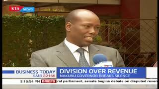 Nakuru Governor breaks silence over Revenue stalemate claiming it affects cash disbursements
