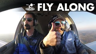 Pilot Program Fly-Along | Stefan Pilots a Diamond DA-40! - MTSU - Video Youtube