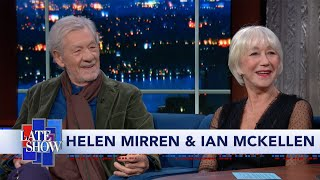 Helen Mirren & Ian McKellen: Hamlet And Juliet Are The Roles That Got Away
