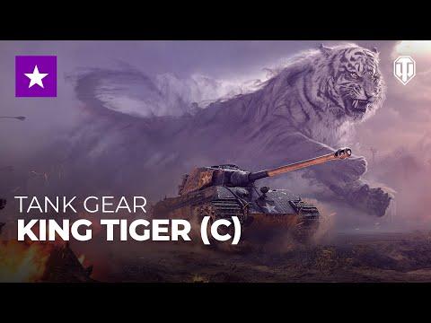 Tank Gear King Tiger C Tanks World Of Tanks Media Best Videos And Artwork