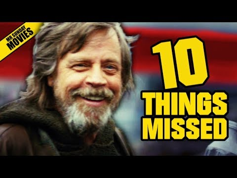 STAR WARS: THE LAST JEDI D23 Trailer - Things Missed & Easter Eggs