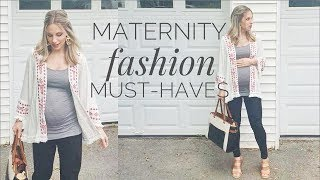 Maternity Fashion Essentials & Must-Haves