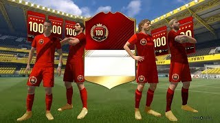THE GREATEST TOP 100 MONTHLY PACK OPENING EVER! - FIFA 17 Ultimate Team