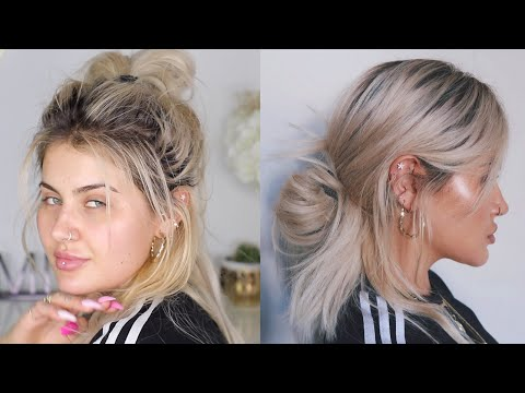 LAZY GIRL HAIR & MAKEUP TUTORIAL | JAMIE GENEVIEVE