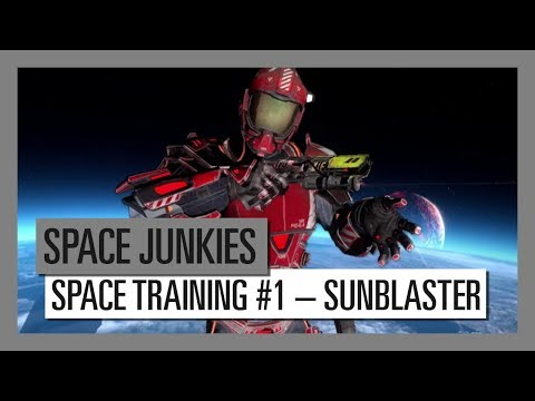 Space Junkies: Space Training #1 – Sunblaster Weapon thumbnail
