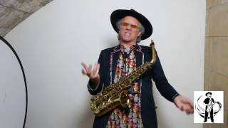How to play 'The Entertainer' on the alto sax