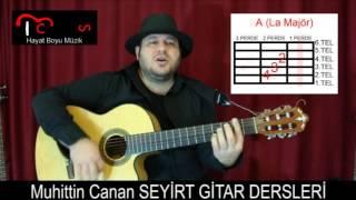 Gitar Dersi - Yandım Yandım - Mazhar Alanson ( Gitar - Repertuar - Orta Seviye )