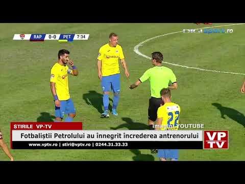 Fotbaliștii Petrolului au înnegrit încrederea antrenorului