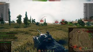 World of Tanks WZ 111 5A on Steppes almost 6k damage 12 kills in a platoon 02 07 2018