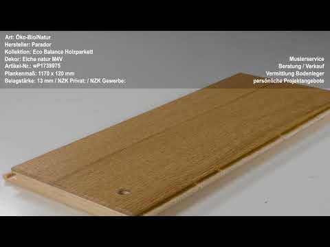 Parador Eco Balance Holzparkett Eiche natur M4V