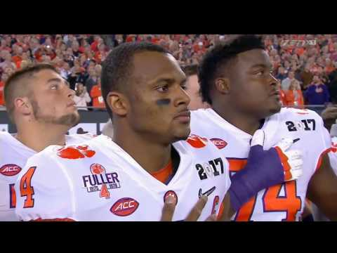 Clemson Tigers vs Alabama Crimson Tide College Football National Championship Game  1/9/17