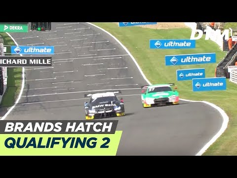 DTM Brands Hatch 2019 - Qualifying Race 2 - RE-LIVE (English)