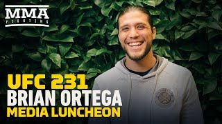 Brian Ortega: Max Holloway Unknown Health Issues 'A Little Bit Off' - MMA Fighting