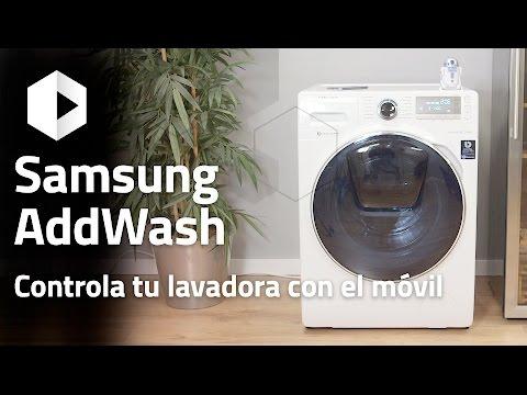 Review lavadora Samsung AddWash con SmartHome. ¿Cómo funciona?