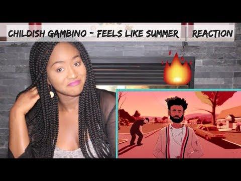 Childish Gambino - Feels Like Summer | REACTION