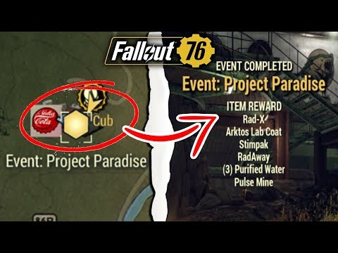 Fallout 76 | PROJECT PARADISE FOR DUMMIES! Complete Event Guide & Walkthrough