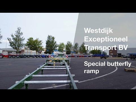Video bij:Broshuis vlinderklep voor tram- en trein transport