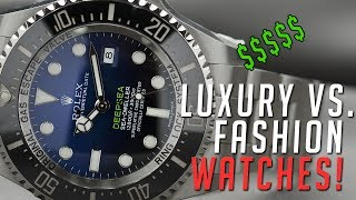 Luxury Watches VS Fashion Watches || Menswear Review ||Gents Lounge