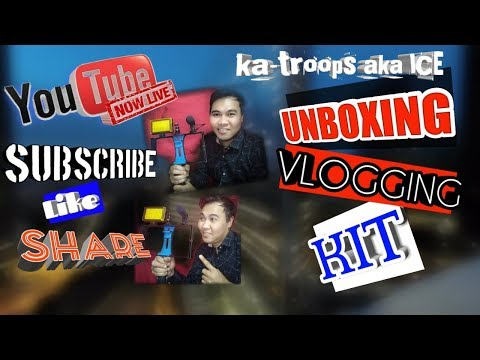 Download Unboxing Vlogging Kit for Youtubers Mp4 HD Video and MP3