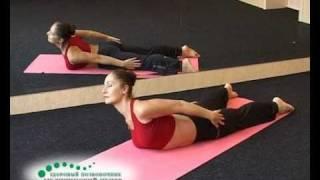 Смотреть онлайн Лечебная гимнастика для позвоночника, упражнения