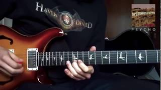 System Of A Down - Psycho (guitar cover)