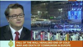 Dr Henning Meyer on the 20th Anniversary of the fall of the Berlin Wall 2