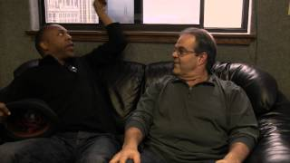 Greg's Big Black Couch with Michael Winslow
