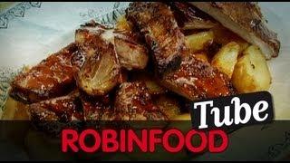 ROBINFOOD / Aderezo Para Asados + Costilla De Cerdo Asada + Patatas Golfas
