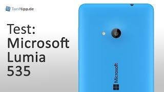 Microsoft Lumia 535   Test deutsch