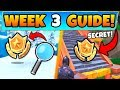 Fortnite WEEK 3 CHALLENGES GUIDE! - Search Where The Magnifying Glass Sits (Battle Royale Season 8)