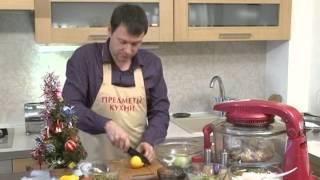 аэрогриль мясо с овощами