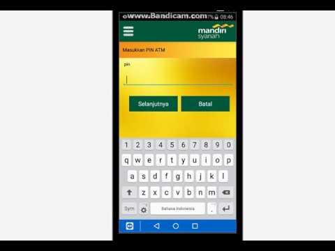Cara transfer via BSM Mobile ke Bank Lain