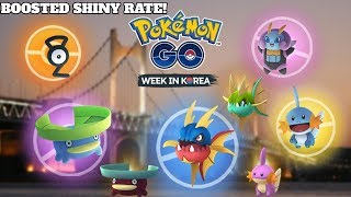 NEW KOREAN WEEK EVENT IN POKEMON GO! Let's Catch Lots of Shiny's!