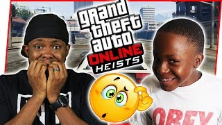 TRENT FLUFFS UP THE MISSION AGAIN! - GTA Online Heist Gameplay