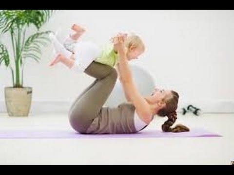 Упражнения для похудения время беременности
