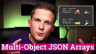 Generating Multi-Object JSON Arrays in SQL Server