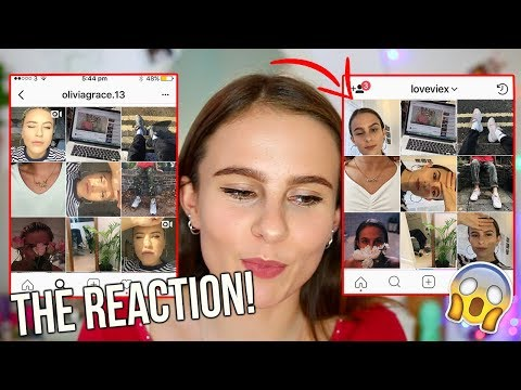 COPYING MY BEST FRIEND'S INSTAGRAM!!! THEIR REACTION! Lovevie