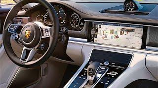 New Porsche Panamera 2017 INTERIOR Porsche Panamera Turbo INTERIOR 2017 CARJAM TV