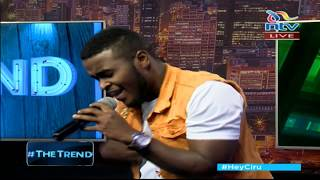 Sudi Boy's mashup performance of his new songs ' Kidonda and Maulana - #theTrend