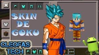 Goku Minecraft Skin Videos - Skins para minecraft pe de dragon ball z