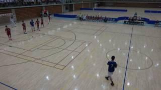 平成29年度石川県高等学校総合体育大会ハンドボール競技小松工業対金沢市立工業前半