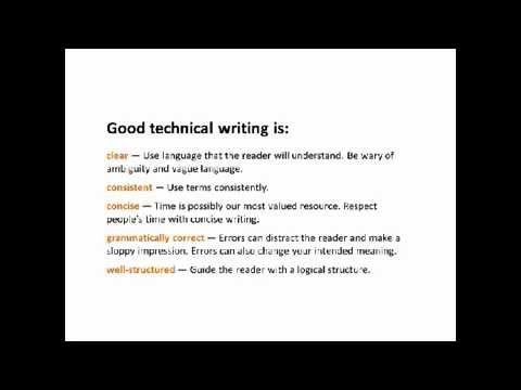 Introduction to Technical Writing Webinar - YouTube