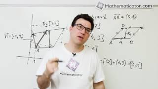 Analytická geometrie 21 - Vektory - Procvičení - Obsah rovnoběžníku