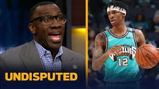 Ja Morant will win NBA Rookie of the Year over Zion Williamson — Shannon Sharpe | NBA | UNDISPUTED